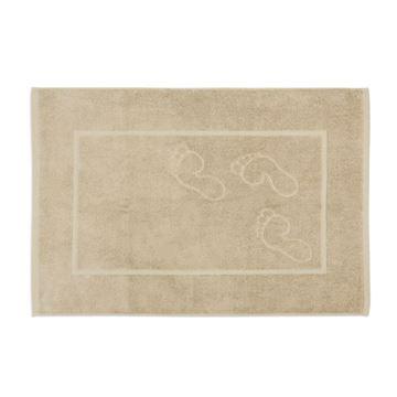 תמונה של  שטיחון אמבט פסיעות זית