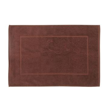 תמונה של שטיחון אמבט פסיעות חום
