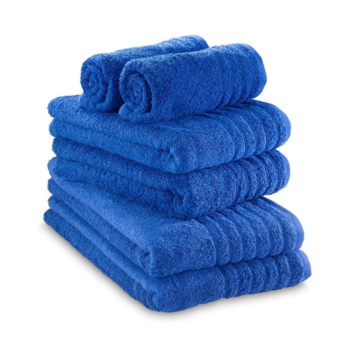 תמונה של מגבת כחול