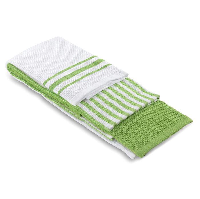 תמונה של מגבת מטבח ירוק
