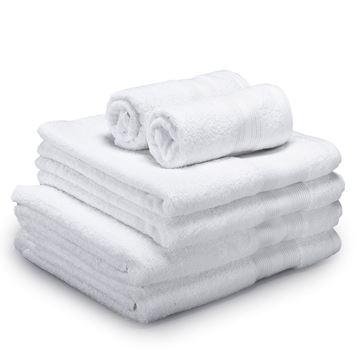 תמונה של מגבת ספא לבן
