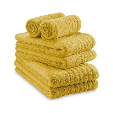 תמונה של מגבת צהוב חרדל